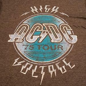 AC/DC High Voltage '75 Tour Tee